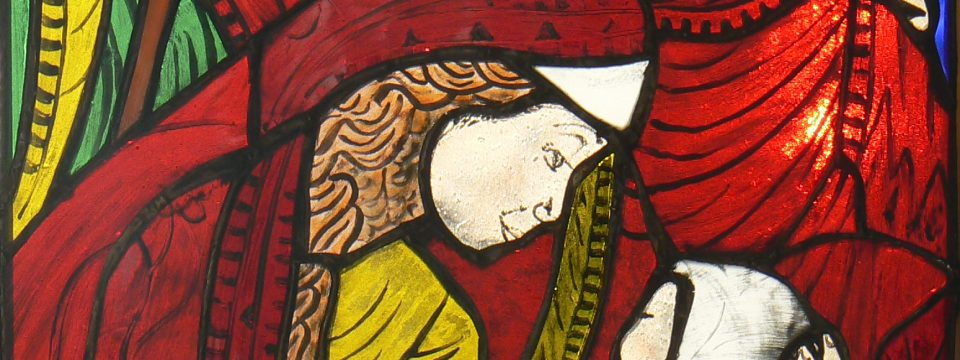 Stained glass window 3A